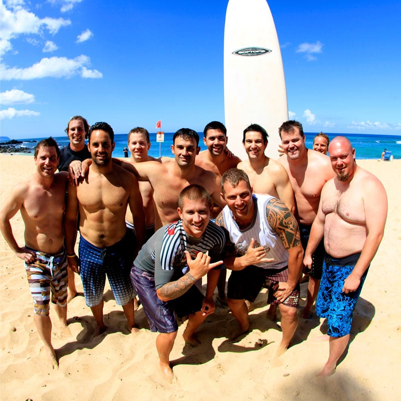 Oahu Group Surf Lessons